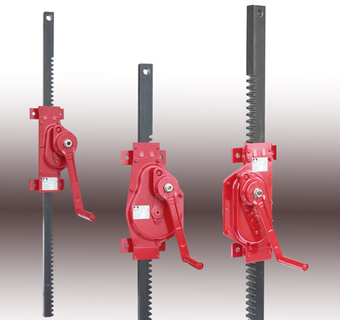 Rack And Pinion Winches For Wall Mounting Haacon