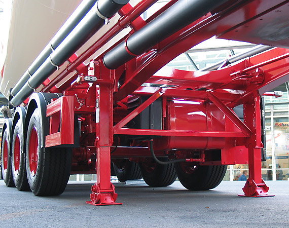 Commercial Vehicle Equipment Trailer Landing Gears