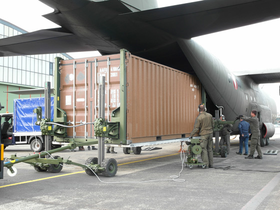 Aircraft loading 1350